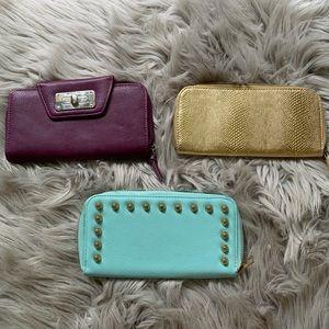 Handbags - BUNDLE OF 3 Assorted Wallets